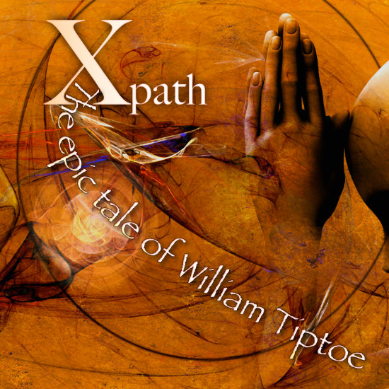 """Cover """"The epic tale of William Tiptoe"""""""